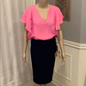 2 piece skirt outfit- Size XL